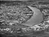 Picture relating to Brisbane - titled 'Aerial view of the Roma Street Railway yards and the central business district of Brisbane, 1932'