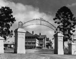 Picture relating to Warwick - titled 'Approach to the Warwick General Hospital, 1935'