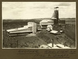 Picture relating to Mount Isa - titled 'General view of the mill and shaft, Mt. Isa Mines, 1932'