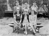Picture relating to Cloncurry - titled 'Portrait of school children from Cloncurry State School, 1948'
