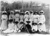 Picture relating to Canungra - titled 'Canungra ladies cricket team, ca. 1908'
