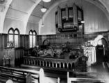 Picture relating to Wooloowin - titled 'Interior of Wooloowin Methodist Church, Brisbane, ca. 1940'