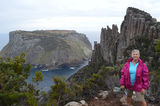 Picture relating to Cape Pillar - titled 'Cape Pillar, Three Capes Track,Tasmania'