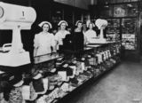 Picture of / about 'Brisbane' Queensland - George E. Adams' cake shop, Brisbane Arcade, Brisbane, ca. 1938