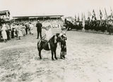 Picture relating to Mackay - titled 'Scene at Mackay Showgrounds during Queen Elizabeth's Royal Visit, March 1954'