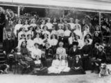 Picture of / about 'Oxley' Queensland - Female students from Duporth School, Oxley, Brisbane, ca. 1913