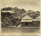 Picture relating to Townsville - titled 'View from Queen's Hotel, looking up the hill, Townsville, ca. 1881'