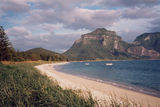Picture relating to Lord Howe Island Weather Station - titled 'Lord Howe Island NSW 1996'