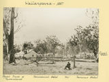 Picture relating to Wallangarra - titled 'Royal Bank of Queensland at Wallangarra, 1887'