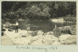 Picture relating to Kuranda - titled 'Swimming at Kuranda Crossing, 1927'