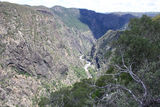 Picture relating to Wollomombi Falls - titled 'Wollomombi Gorge'
