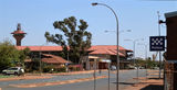 Picture relating to Port Hedland - titled 'Port Control Tower, Hotel and Police Station Port Hedland'