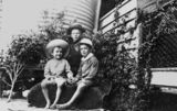 Picture relating to Bundaberg - titled 'C. N. Arnold and two other boys, 1900-1910'
