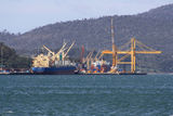 Picture relating to Bell Bay - titled 'Container terminal at Bell Bay'
