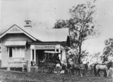 Picture relating to Kilcoy - titled 'Loading the mail at the post office, Kilcoy, ca. 1913'
