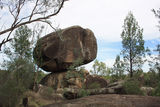 Picture relating to Warialda - titled 'Balancing Boulder at Cranky Rock Reserve, Warialda'