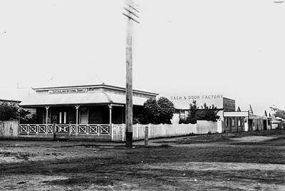 Picture of / about 'Mareeba' Queensland - Queensland National Bank building, Mareeba