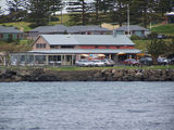 Picture relating to Kiama - titled 'Kiama Harbour and seafood Restaruants'