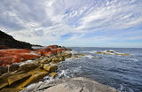 Picture relating to Bay Of Fires - titled 'Bay Of Fires, headland at Cosy Corner'