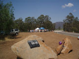 "Picture relating to Wollombi Brook - titled ' ""Broke""  bridge official opening  Wollombi Brook'"