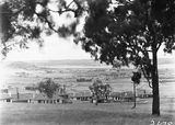 Picture relating to Forrest - titled 'View from Forrest over Kingston to Duntroon showing Hotel Wellington and Telopea Park School'
