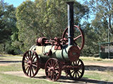 Picture relating to Wilcannia - titled 'Wilcannia - Steam engine used for wool shearing'