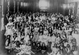Picture relating to Windsor - titled 'Fancy dress ball at the Crystal Palace, Windsor, Brisbane, 1913'