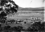 Picture relating to Mount Ainslie - titled 'View from Red Hill over Forrest to Mount Ainslie'