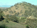 Picture relating to Yass Road - titled 'Taemas Bridge where the Yass Road crosses the Murrumbidgee River'