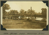 Picture relating to Cunnamulla - titled 'New bridge over the Warrego River at Cunnamulla, 1939'