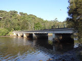 Picture relating to Woronora - titled 'Lower Woronora River bridge '