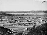Picture relating to Kingston - titled 'View from Red Hill over Manuka and Kingston to Duntroon'