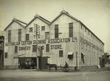Picture relating to Rockhampton - titled 'Australian Cotton Growing Association Ltd. Ginnery at Rockhampton'