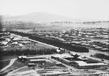 Picture relating to Red Hill - titled 'Ariel view over Kingston factory area, looking towards Red Hill.'