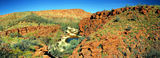 Picture relating to Trephina Gorge - titled 'Trephina Gorge from the rim walk'