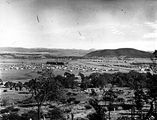 Picture relating to Reid - titled 'Reid, Braddon and Civic Centre from Mt Ainslie, Ainslie Hotel on the right.'