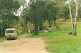 Picture relating to Ensay South - titled 'Ensay South rest area; Great Alpine Road/Tambo River'