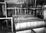 Picture relating to Murgon - titled 'Cream pasteurising and cooling coils at Murgon Butter Factory, 1939'
