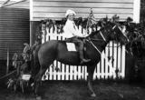 Picture relating to Lota - titled 'Lily McIntyre on horseback'