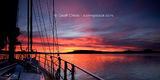 Picture relating to Gosford - titled 'Gosford - Crimson Sunrise waterscape, wallpaper screensaver and photo download.'