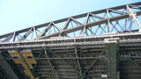 Picture relating to Sydney Harbour Bridge - titled 'Underside structure of the Sydney Harbour Bridge'