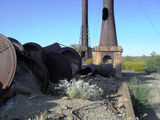 Picture relating to Kuridala Mine - titled 'Kuridala Smelter'