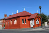 Picture relating to Hobart - titled ' Community Hall, Battery Point'