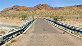 Picture relating to Lake Argyle Road - titled 'Lake Argyle Road Spillway Creek bridge'