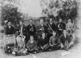 Picture relating to Taroom - titled 'Portrait of members of the Taroom Band, Queensland, 1908'