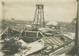 Picture relating to Innisfail - titled 'Ruins of the Roman Catholic Church in Innisfail after the 1906 cyclone'