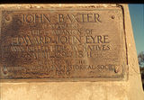 Picture relating to Chichester Range - titled 'Plaque on the Baxter Memorial'