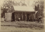 Picture relating to Warra - titled 'Selector's hut at Warra in central Queesland'