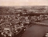 Picture of / about 'Brisbane' Queensland - Aerial view of Brisbane and the river, ca. 1929