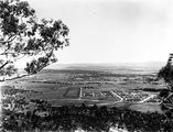 Picture relating to Parliament House - titled 'View along Anzac Parade to Old Parliament House from Mt Ainslie'
